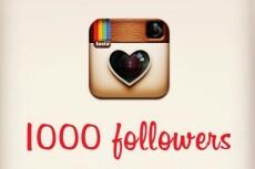 обеспечу 1000 подписчиков в Instagram 9 - kwork.ru