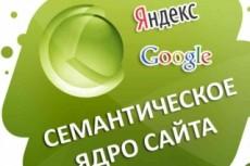 Соберу семантическое ядро для сайта 3 - kwork.ru