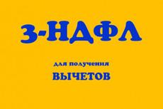 Декларация 3-НДФЛ - электронно 12 - kwork.ru