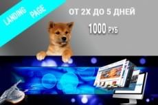 Создам прототип продающей страницы, лендинга 4 - kwork.ru