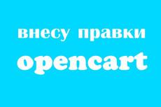 Правки интернет-магазина на OpenCart 12 - kwork.ru