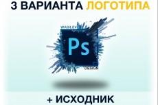 Уникальный логотип, несколько вариантов. Исходники psd+png в подарок 284 - kwork.ru