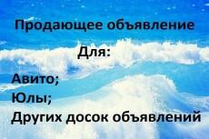 Напишу 5 продающих объявлений для продаж на Авито 13 - kwork.ru