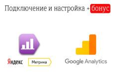 Подключение Яндекс. Метрики на любой сайт с любыми CMS 10 - kwork.ru
