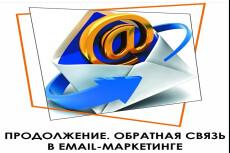 E-mail рассылка на адреса конкретной тематики 23 - kwork.ru