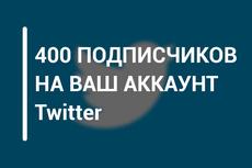 1700 подписчиков на Ваш аккаунт в Twitter 20 - kwork.ru