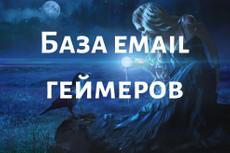 564 тыс. 498 email по женским темам + очистка базы в подарок 25 - kwork.ru