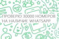 Найду номера whatsapp среди ваших контактов или базы данных 14 - kwork.ru
