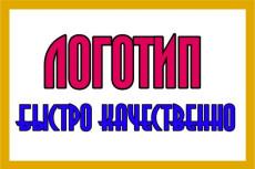 Качественный дизайн логотипа 11 - kwork.ru
