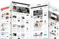 Premium шаблон для Веб-студии, РА, для Фрилансера 44 - kwork.ru