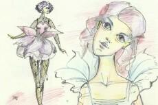 Отрисовка персонажей, иллюстраций, рисунков 37 - kwork.ru