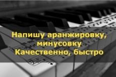 Напишу профессиональную аранжировку для живого состава(от ансамбля до оркестра) 9 - kwork.ru