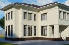 Сделаю визуализацию экстерьера здания в 3d Max 34 - kwork.ru