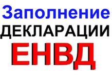 Декларация ЕНВД для ООО и ИП 11 - kwork.ru