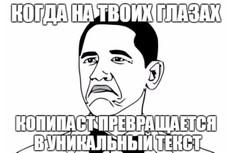 переделаю и отредактирую ваш текст 6 - kwork.ru