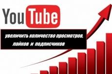 6000 просмотров видео на YouTube 10 - kwork.ru