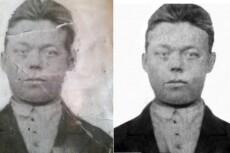 Реставрация и ретушь старых фотографий любой сложности 21 - kwork.ru