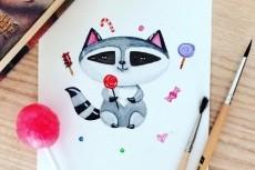 Нарисую вас в мультяшном стиле 23 - kwork.ru