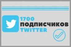 Добавлю ваш аккаунт в Твиттер в 50 разных списков 12 - kwork.ru