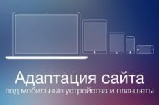 Адаптация сайта под мобильные устройства 22 - kwork.ru