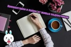 Поставлю лайки и напишу крутые комментарии к фото в Инстраграм 8 - kwork.ru