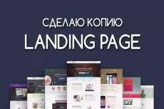 Скопирую landing page, одностраничный сайт, рабочие формы 209 - kwork.ru
