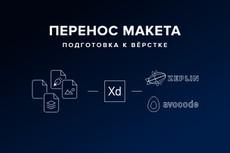 Разработаю дизайн макет , быстро, качественно 5 - kwork.ru