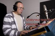Запишу звук для вашего видео, рекламы, аудиокниги на отличн. микрофон 5 - kwork.ru