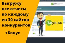 Парсинг любых сайтов 15 - kwork.ru