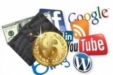 Скачаю 3 реальных курса по заработку в интернете, используя соц.сети 4 - kwork.ru