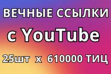 25 вечных ссылок с ТИЦ от 500 и выше 27 - kwork.ru