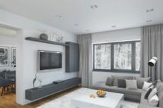 Создам 3д модель квартиры, дома или коммерческого объекта 38 - kwork.ru