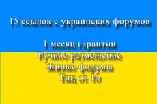 Поставлю 14 жирных вечных ссылок с суммарным ТИц 33700 13 - kwork.ru
