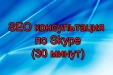 Научу SEO. SEO курсы по Skype 5 - kwork.ru
