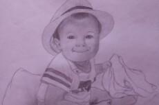 Напишу портрет карандашом 21 - kwork.ru