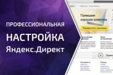 Настрою рекламу в РСЯ 21 - kwork.ru