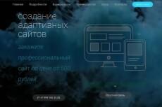 Верстка, Доработка, Адаптация HTML, CSS, JS из PSD 70 - kwork.ru