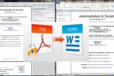 Конвертация текстовых файлов PDF, RTF, WORD и иных форматов 9 - kwork.ru