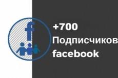800 русских подписчиков на страницу Facebook 9 - kwork.ru