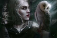 Нарисую  стилизованный портрет,ваших персонажей,всё,что пожелаете 13 - kwork.ru