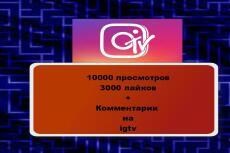 150000 живые просмотры в Instagram +50 комментариев. Вывод видео в топ 14 - kwork.ru