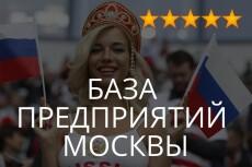 База компаний Москвы 8 - kwork.ru