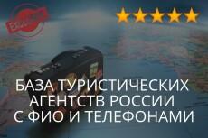 База клиентов для бизнеса 24 - kwork.ru