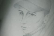 Нарисую портрет в карандаше 15 - kwork.ru
