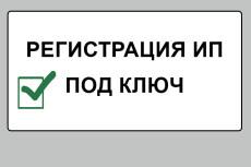 Подготовка документов для регистрации  ИП 21 - kwork.ru