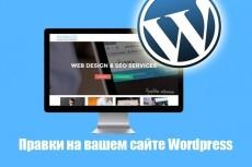 Wordpress выполню любые небольшие работы, правки по сайту 15 - kwork.ru