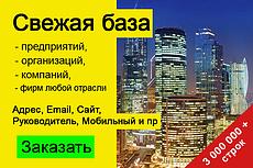 База организаций Республики Крым, экспорт данных предприятий фирм 12 - kwork.ru