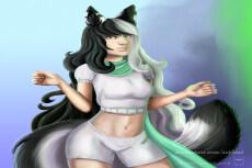 Растровая иллюстрация, дизайн персонажа 25 - kwork.ru