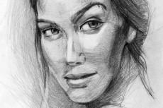 Красивый цифровой портрет 35 - kwork.ru