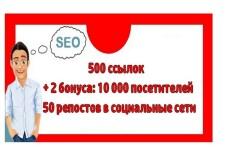 Привлеку 20000 уникальных посетителей на сайт 13 - kwork.ru